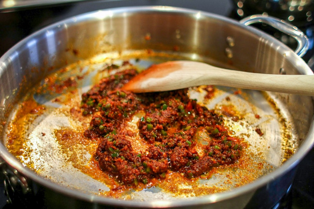 here's your masala paste!