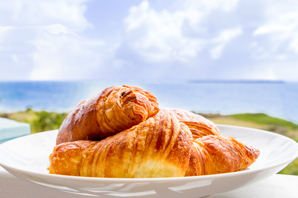 Yes, these croissants WERE heaven-sent!