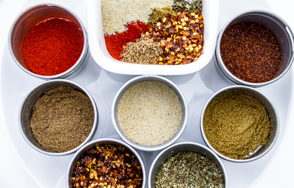 seriously, this is almost all you need for homemade taco mix!