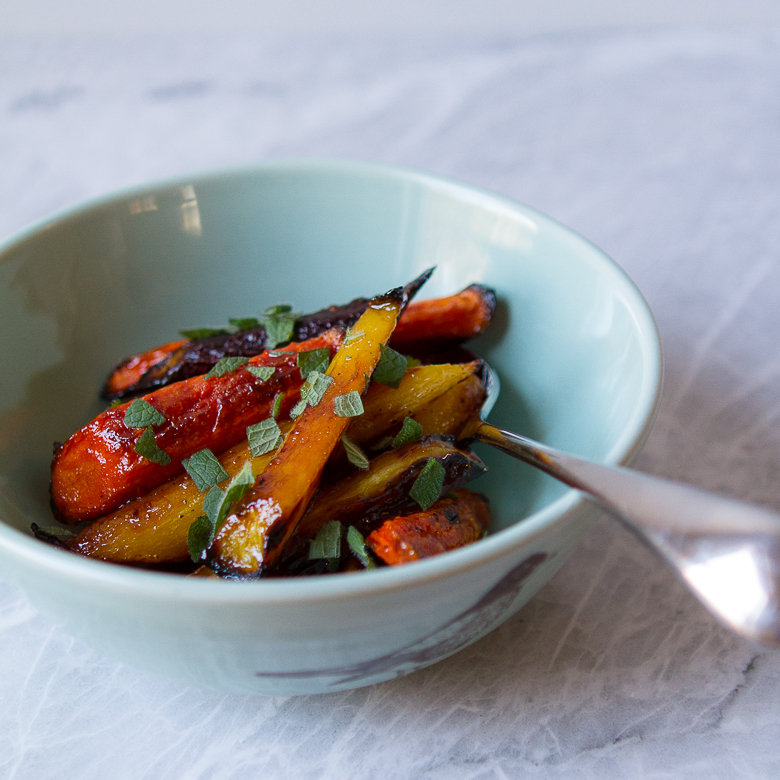 Maple Roasted Carrots - m's belly